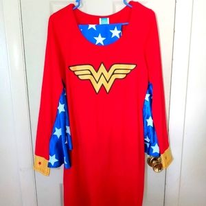 Women's Complete Like-New, (Worn Once), Wonder Woman Costume By DC Comics